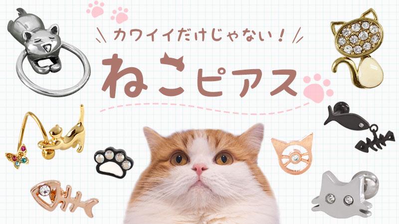 猫モチーフのピアスが持つ意味とは?おすすめデザインもご紹介!